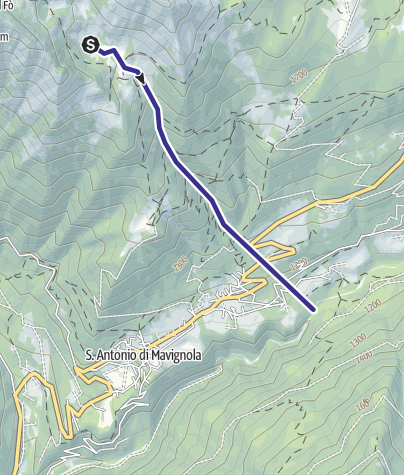 Map / Rio Valchestria Z