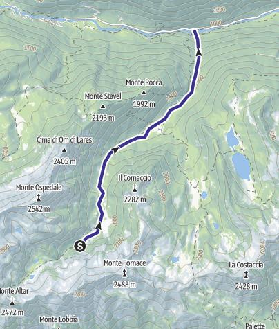 Karte / Rio Siniciaga G2