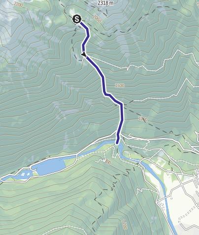 Karte / Rio San Martino G2