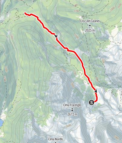 Map / Rio Brenta D