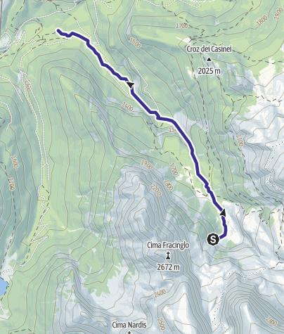 Mappa / Rio Brenta D