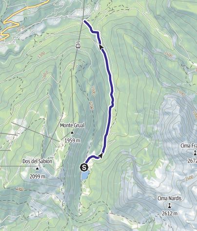 Map / Rio Valagola Z