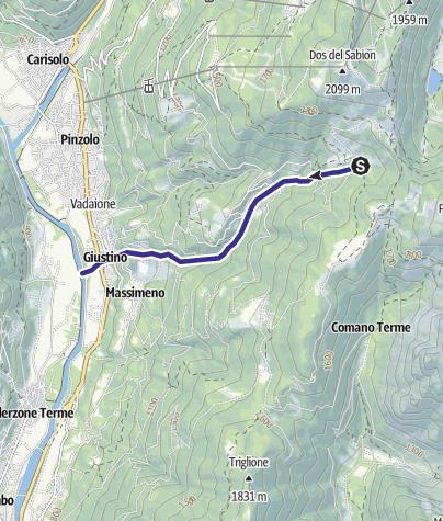 Karte / Rio Flanginech Z