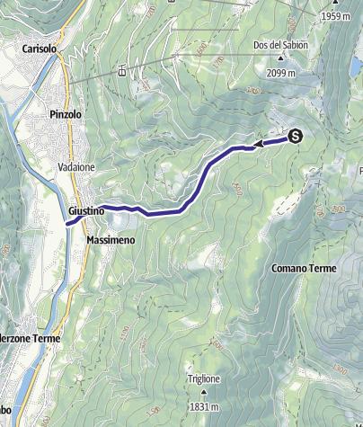 Mappa / Rio Flanginech Z