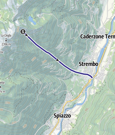 Karte / Rio Vagogna Z