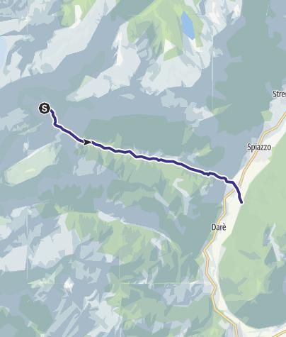 Cartina / Rio Bedù 2 di Pelugo e affluenti L