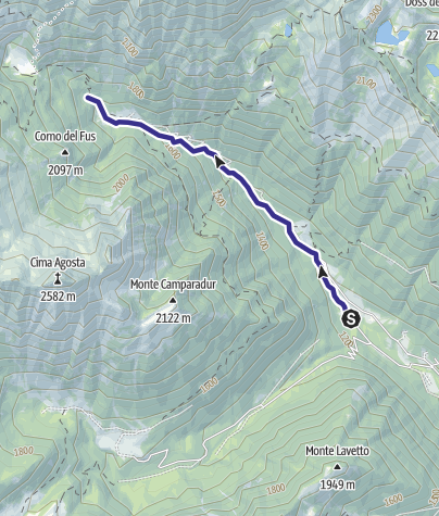 Mappa / Torrente Arnò H1
