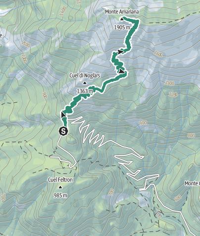 Map / Monte Amariana