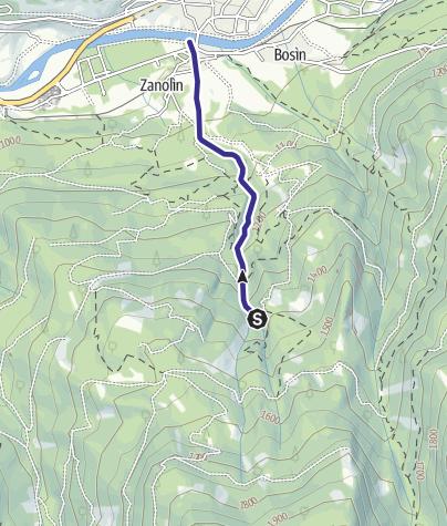 Cartina / Rio Gazzolin