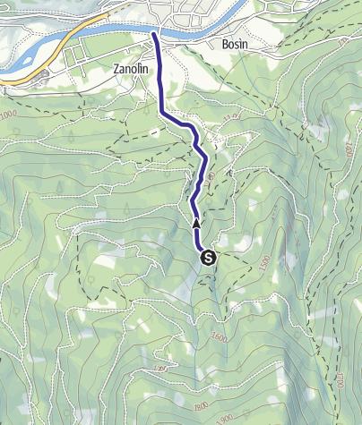 Mappa / Rio Gazzolin