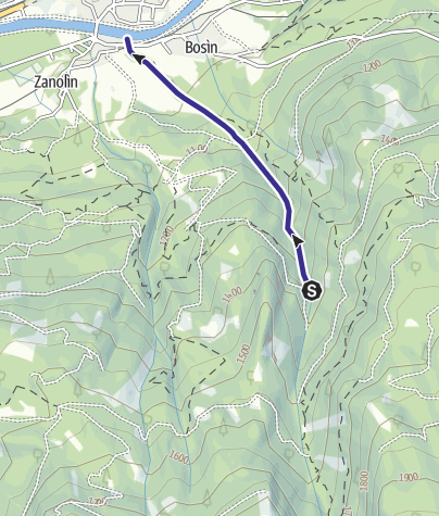 Cartina / Rio Castellir C