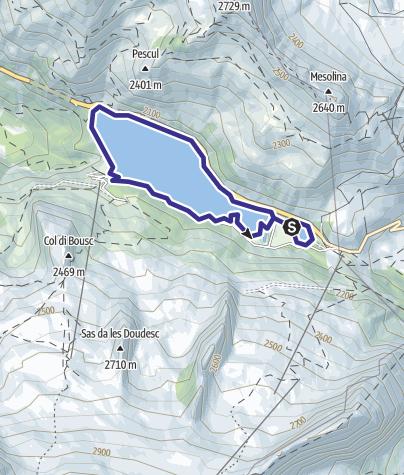 Map / Lago di Fedaia B
