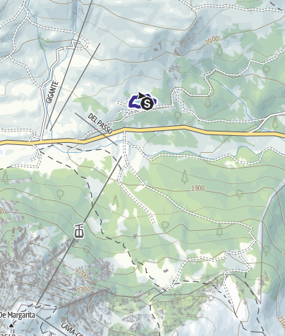 Karte / Bacino Pozze C