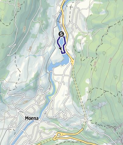 Karte / Lago di Pezzè D