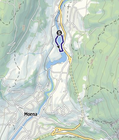 Mappa / Lago di Pezzè D