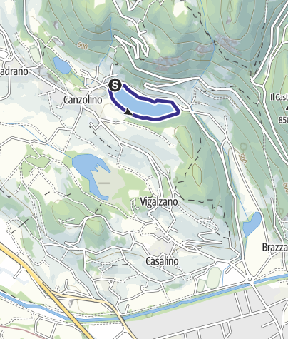 Karte / Lago di Canzolino B
