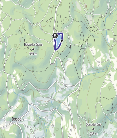 Map / Lago di Santa Colomba A