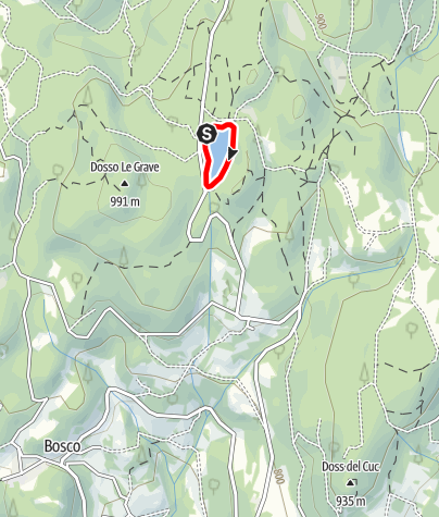 Map / Lago di Santa Colomba A