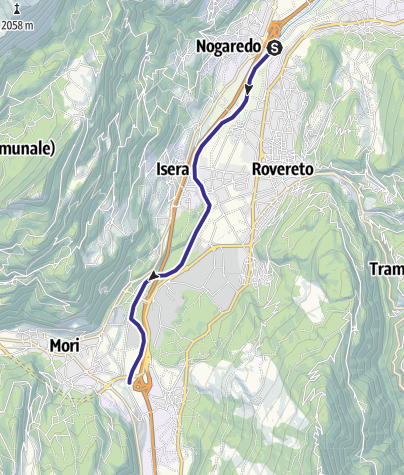 Map / Fiume Adige A