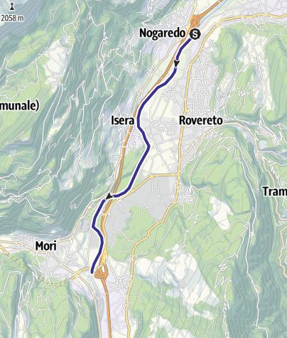 Cartina / Fiume Adige A