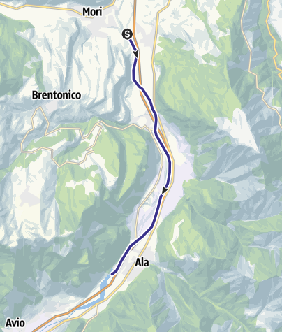Karte / Fiume Adige B