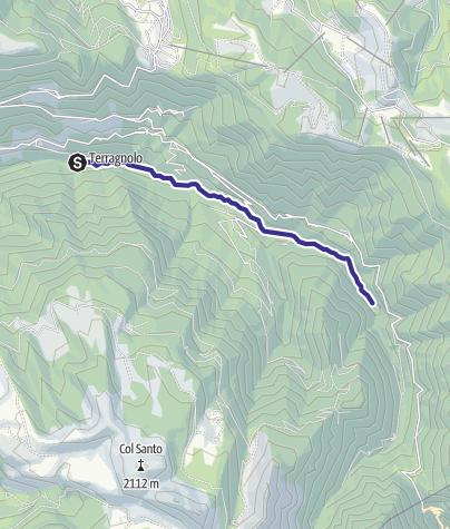 Karte / Torrente Leno di Terragnolo E alta