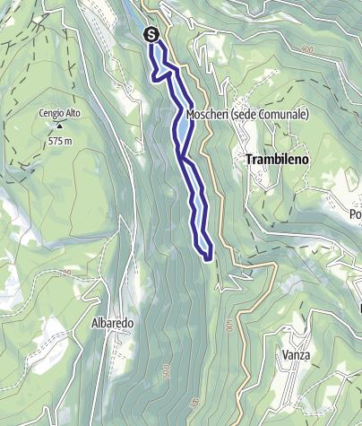 Karte / Bacino di San Colombano N