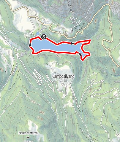 Map / Bacino di Speccheri I