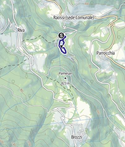 Mappa / Bacino della Busa O