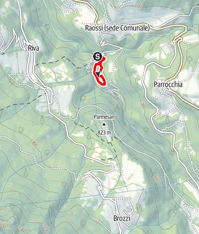 Map / Bacino della Busa O