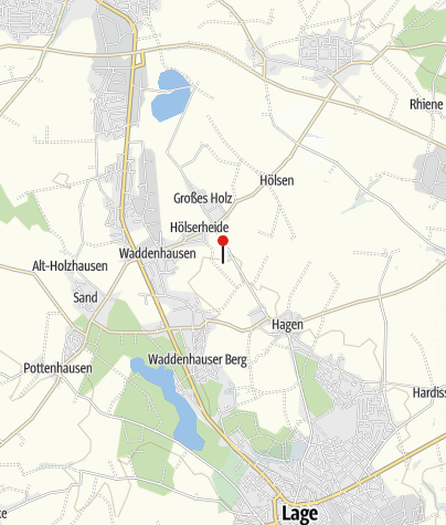 Karte / LWL-Industriemuseum - Ziegeleimuseum Lage