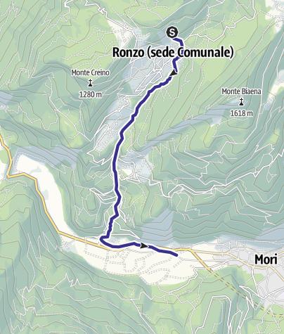 Karte / Rio Gresta H
