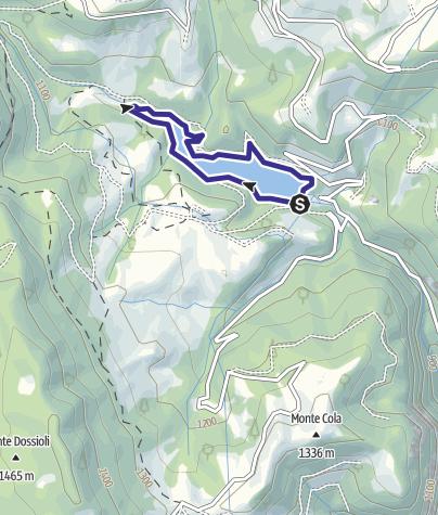 Karte / Bacino Prà da Stua L