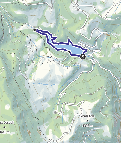 Map / Bacino Prà da Stua L