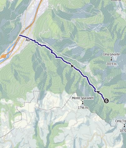Mappa / Torrente Ala P