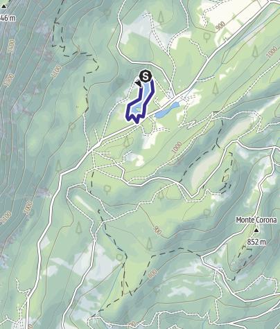 Cartina / Lago Cei T