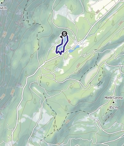 Karte / Lago Cei T