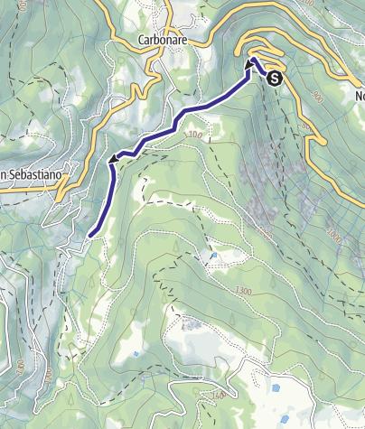 Mappa / Torrente Astico S