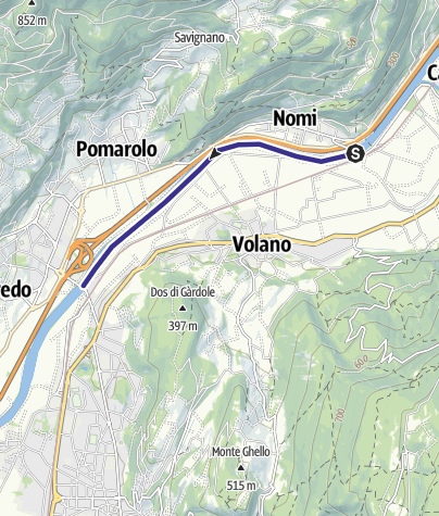 Mappa / Fiume Adige TR-A