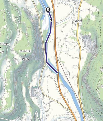 Cartina / Fiume Adige TR-B