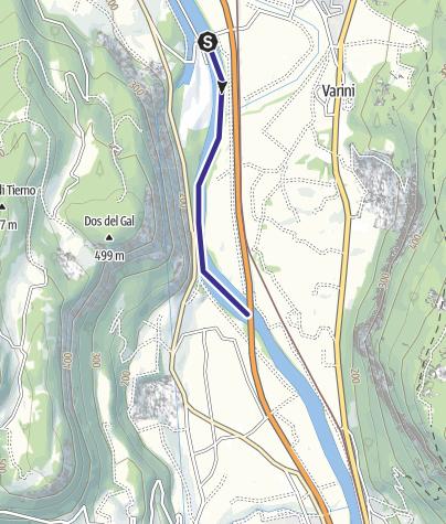 Mappa / Fiume Adige TR-B