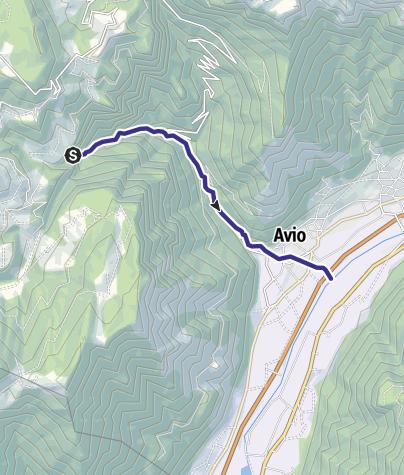 Cartina / Torrente Aviana Q