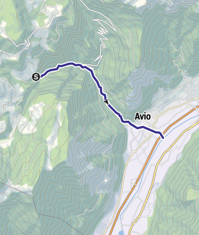Map / Torrente Aviana Q