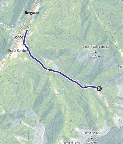 Mappa / Torrente Fiana Z