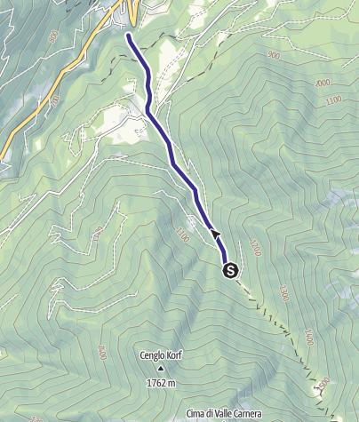 Cartina / Rio Aprico Z
