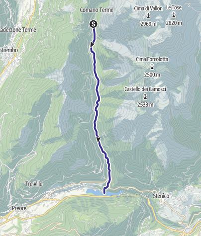Karte / Rio Algone R