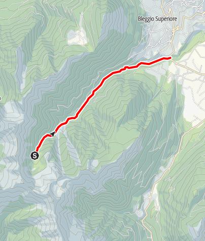 Map / Torrente Duina e affluenti N