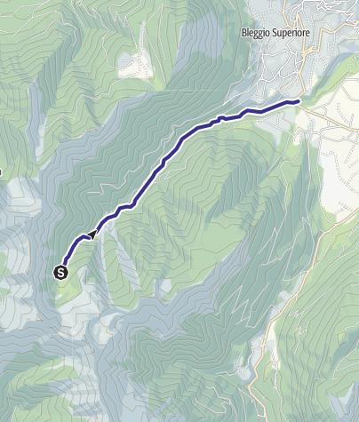 Mappa / Torrente Duina e affluenti N