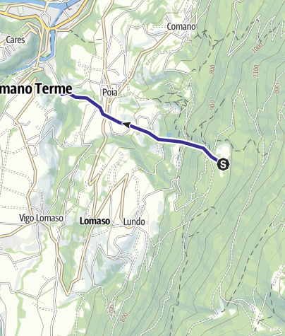 Map / Affluente Torrente Dal O