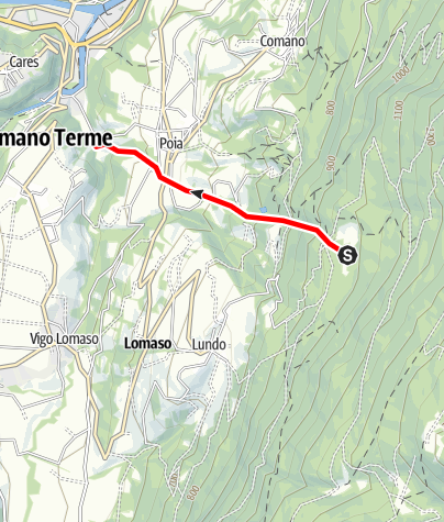 Map / Affluente Torrente Dal O